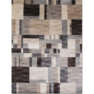 Sonoma Clark 5' x 8' Area Rug - Gray and Blue