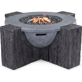 Ibiza Fire Pit - Gray
