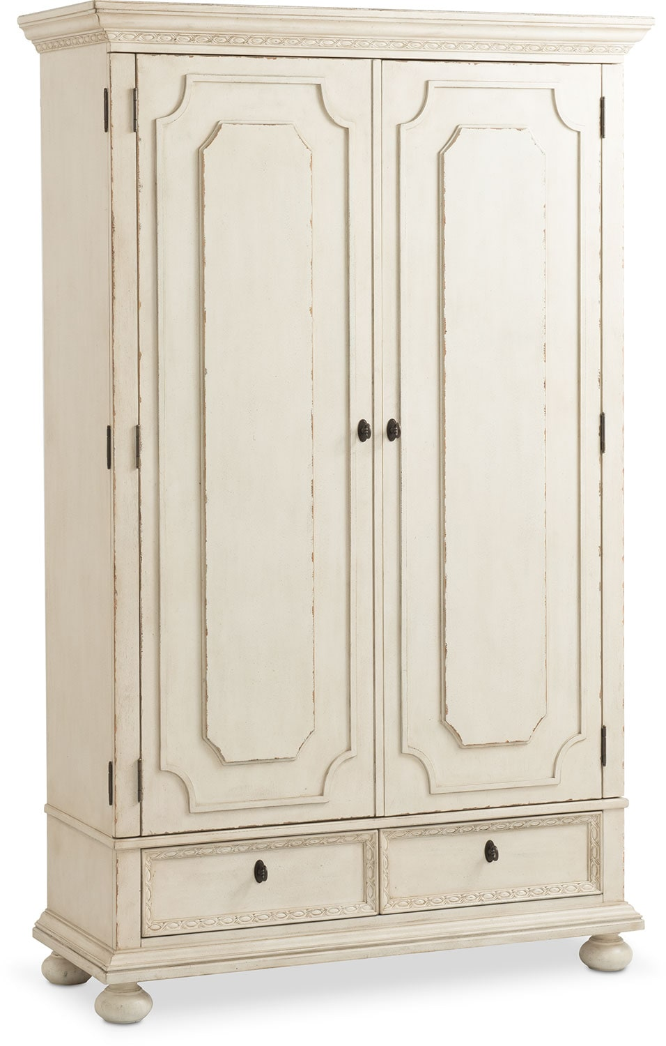 High Quality Bedroom Furniture   Langham Armoire   White