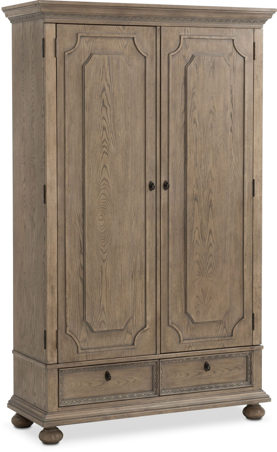 Bedroom Furniture - Langham Armoire - Natural