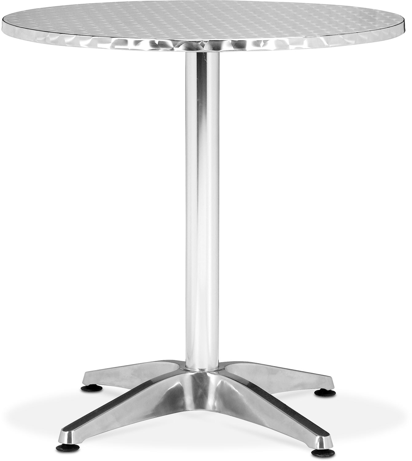 Cleo Outdoor Round Table - Gray