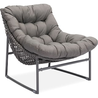 Alexa Outdoor Chair - Gray