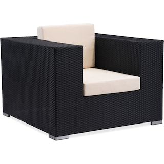 Wiley Outdoor Arm Chair - Espresso