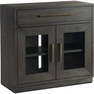Malibu Drop-Drawer Cabinet - Umber