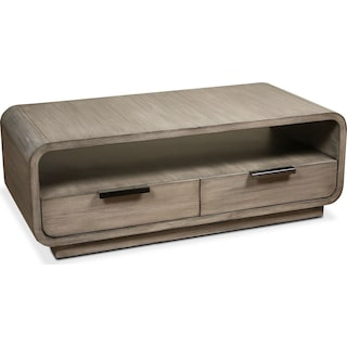 Malibu Coffee Table - Gray