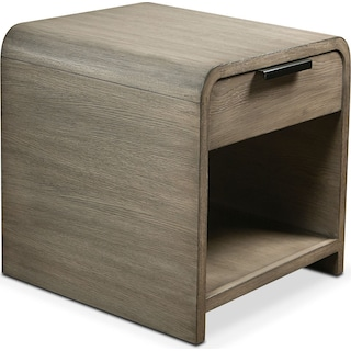 Malibu End Table - Gray