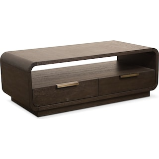 Malibu Coffee Table - Umber
