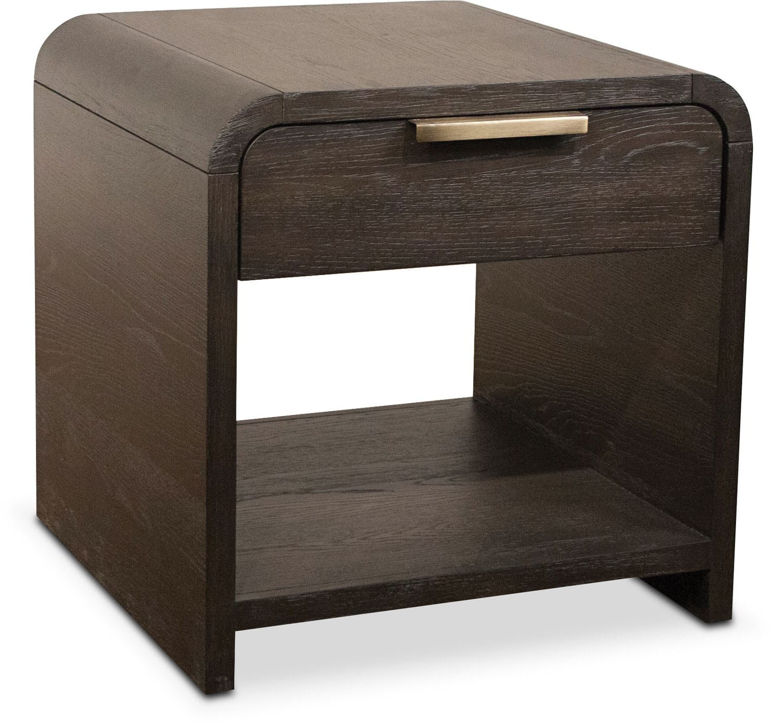 Accent and Occasional Furniture - Malibu End Table - Umber