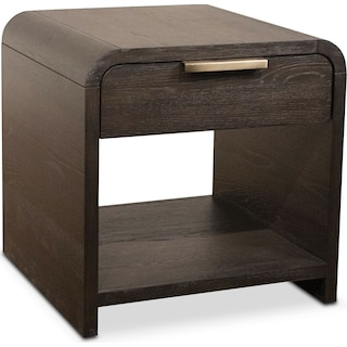 Malibu End Table - Umber