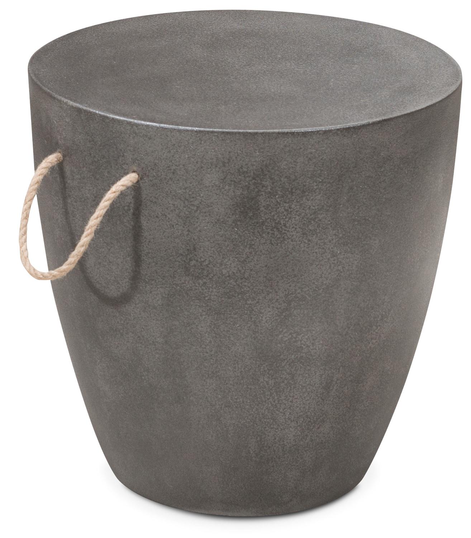 Outdoor Furniture - Zelda Outdoor Stool - Cement