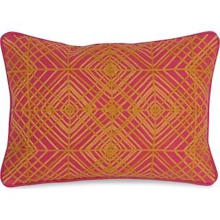 Trela Decorative Pillow - Fuchsia
