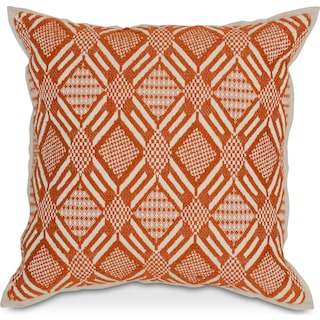 Avila Decorative Pillow - Carrot
