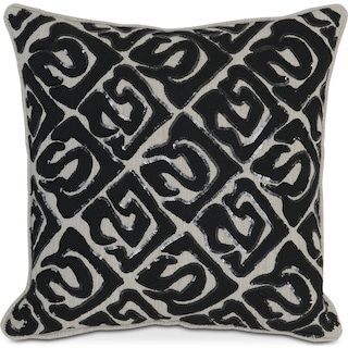Sequins Decorative Pillow - Onyx