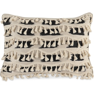 Fringe Decorative Pillow - Ivory