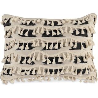 Fringe Decorative Pillow - Ivory
