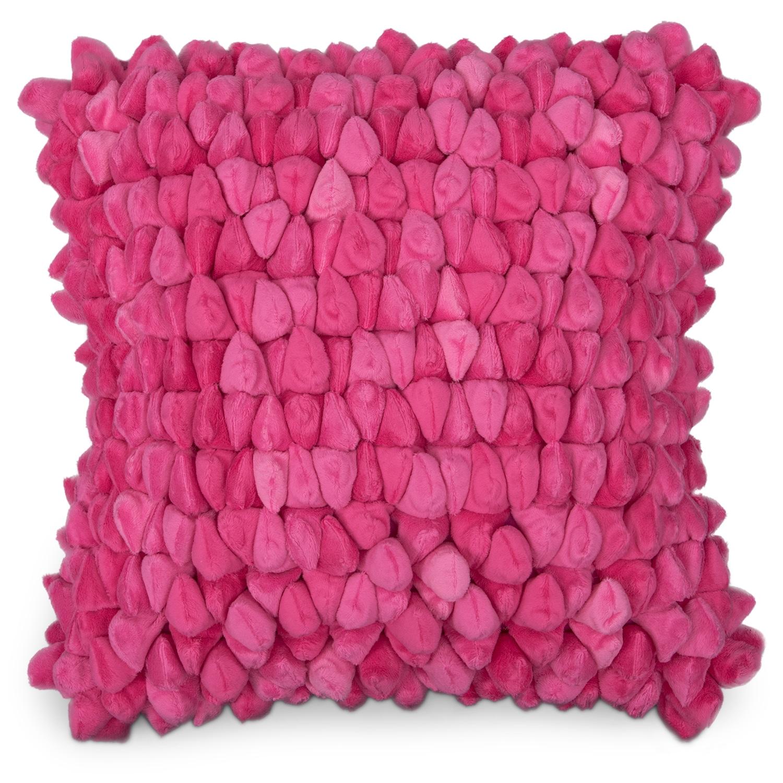 Plush Decorative Pillow - Pink American Signature Furniture