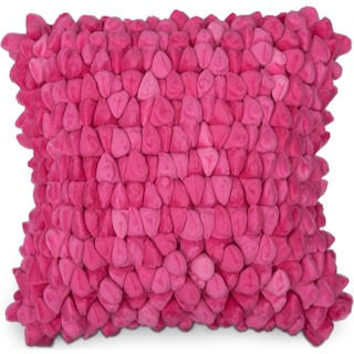 Plush Decorative Pillow - Pink