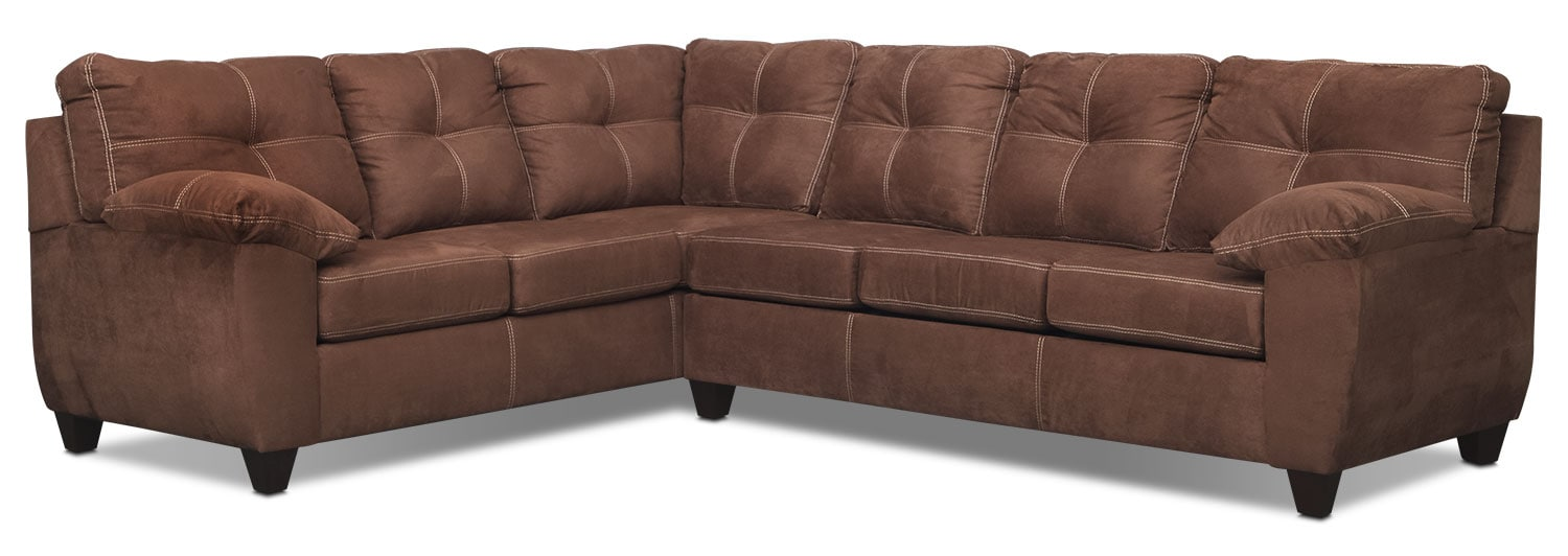 The Ricardo Sectional Collection - Coffee