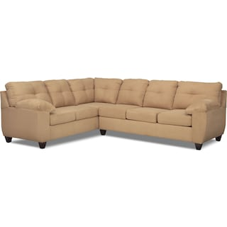 The Ricardo Sectional Collection - Camel
