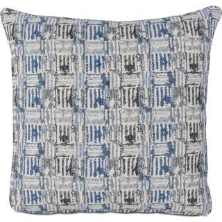 Arcade Decorative Pillow - Blue