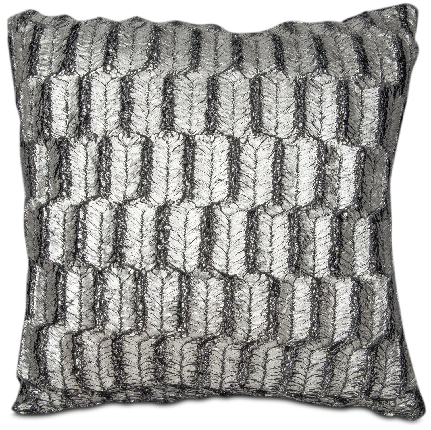 Silver Leaf Decoration Silver Leaf Decorative Pillow American Signature Furniture