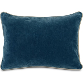 Velvet Decorative Pillow - Marine