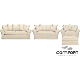 The Allison Comfort Collection - Cream