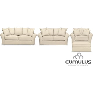 The Allison Cumulus Collection - Cream