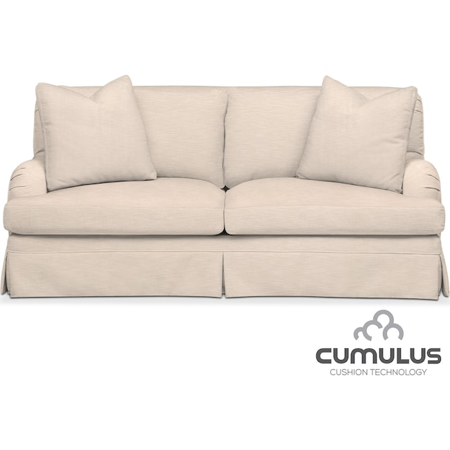 Living Room Furniture - Campbell Cumulus Apartment Sofa - Dudley Buff