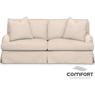 Campbell Comfort Apartment Sofa - Buff