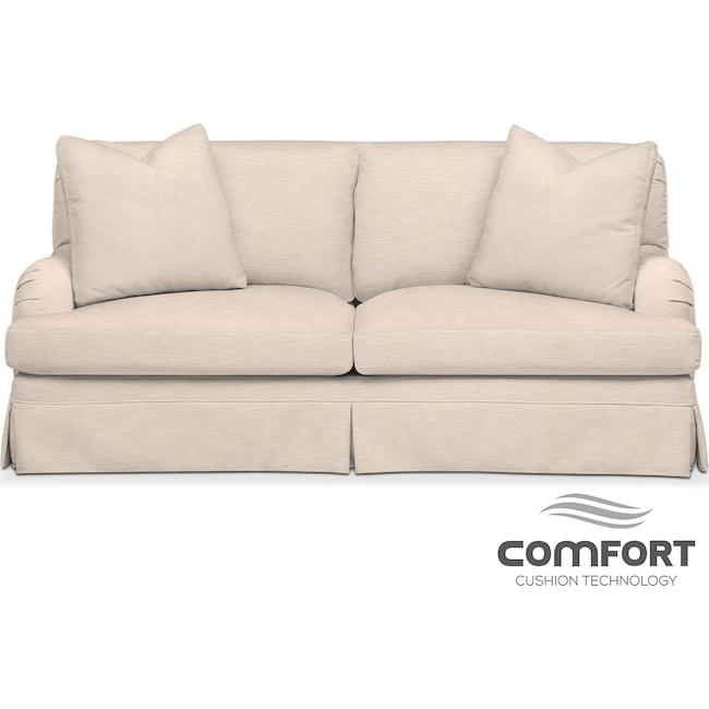 Living Room Furniture - Campbell Comfort Apartment Sofa - Buff
