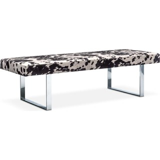 Palomino Bench - Cowhide