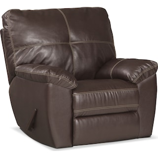 Ricardo Manual Glider Recliner - Brown