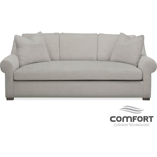 Asher Comfort Sofa - Gray