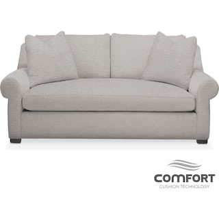 Asher Comfort Apartment Sofa - Dudley Gray