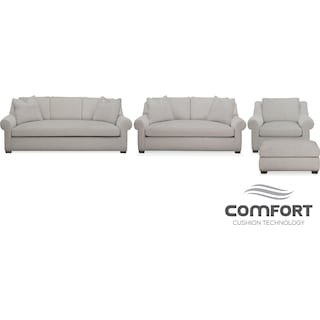 The Asher Comfort Collection - Dudley Gray