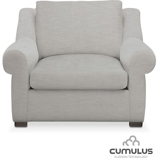 Asher Cumulus Chair - Gray