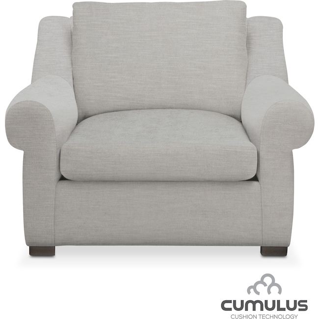 Living Room Furniture - Asher Cumulus Chair - Dudley Gray