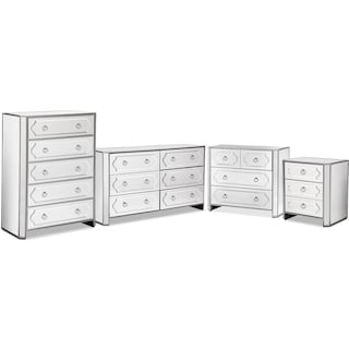 The Harlow Collection - Mirrored
