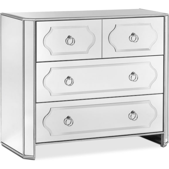 749 99 Harlow Hall Chest Mirrored
