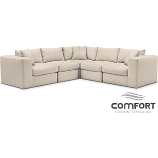 Collin Comfort 5-Piece Sectional - Pearl