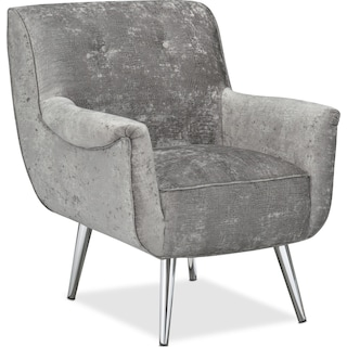 Moda Accent Chair - Charcoal