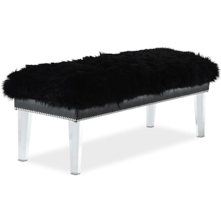 Luxor Bench - Black
