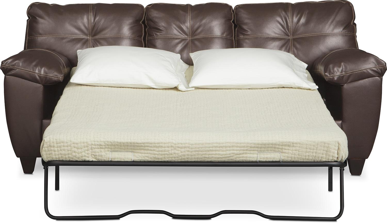 Sleeper Sofa And Loveseat Set Bryden Innerspring Sleeper Sofa Loveseat And Chair Set Slate