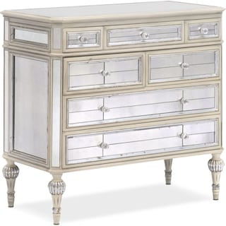 Antico Hall Chest - Antique Mirror