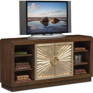 "Conley 64"" TV Stand - Cherry"