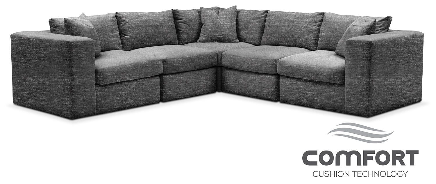 The Collin Comfort Collection - Curious Charcoal
