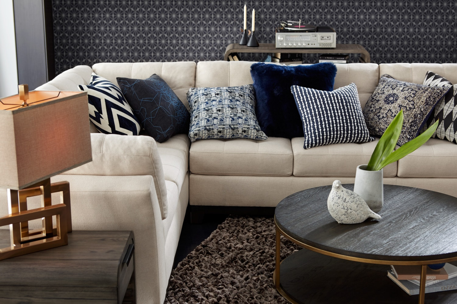 Sebring 2 Piece Sectional With Right Facing Sofa Oyster