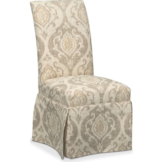 Carrollton Host Chair - Yellow