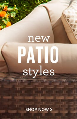 new patio styles